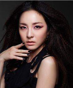 Sandara Park for Clio cosmetics 2ne1 Minzy, 2ne1 Dara, Korean Makeup, Korean Beauty, Asian Beauty, Sandara Park, Killer Abs, Brown Eyed Girls, K Pop Star