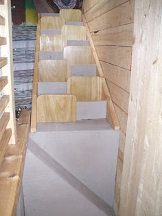 """""""To climb steep hills requires slow pace at first"""" ~ William Shakespeare When I built Tiny House Ontario in 2011, the stairs were a last minute rush job. They are very narrow and very steep but I am able bodied, familiar with them, and I take them slow. The truth is, they have not been…"""