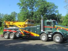 2011+KW+T800+Twin+Steer+with+Miller+75+ton+rotator+6+winches
