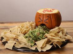Jack O' Lantern Chips And Dip