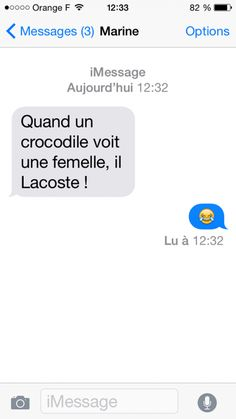 Quand un crocodile… - - Maxime White - Lol, Accounting Humor, Funny Animal Quotes, Hilarious Animals, British Humor, Really Love You, Funny Jokes, Funny Sms, 9gag Funny