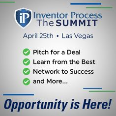 Opportunity is Here! Inventor Process: The SUMMIT on April 25 in Las Vegas at The Orleans Hotel & Casino. Get your tickets soon… deadline to submit your product to pitch is April Scrub Daddy, Vegas Strip, April 25, Special Guest, Fun Learning, Pitch, Opportunity, Las Vegas