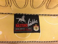 Bed label from the fifties. Truly #Hästens.