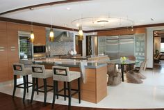 Contemporary kitchen bar stools modern bar stools in great contemporary kitchen ideas modern contemporary kitchen bar . Home Design, Interior Design Kitchen, Design Ideas, Beautiful Kitchens, Cool Kitchens, Island Chairs, Wicker Dining Chairs, Dining Room, Designer Bar Stools