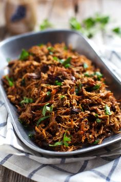 Slow-Cooker Balsamic Pulled Pork