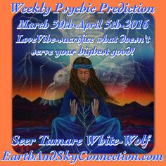 Weekly Psychic Prediction check here!