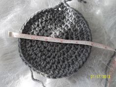 How to properly size crochet hats. Chart for correct sizing, including Magic Circle Sizes.