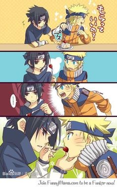 If saving Sasuke means being a fool, then I would leave as a fool forever! ~ Naruto No it was not meaningless, to me you have become . my closest friend ~ Sasuke Naruto: Why? Naruto Shippuden Sasuke, Sasunaru, Anime Naruto, Naruto Comic, Hinata, Naruto And Sasuke Kiss, Naruto Cute, Narusasu, Gaara