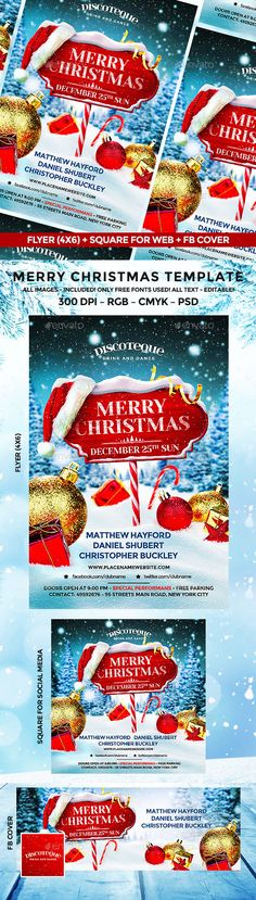 Log in and start using Piktochart's templates and drag-and-drop editor to create stunning visuals Christmas Flyer Template, Christmas Templates, Web Design, Flyer Design, Flyer Size, Christmas Design, Christmas Christmas, New Years Poster, Event Flyers
