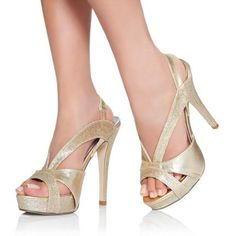 Champagne shoes!