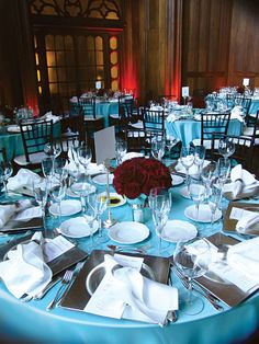 red, teal, and grey weddings idea....such a good idea but instead of those colors I want Tiffany blue, coral and brown!