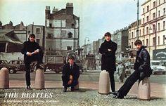 Paul McCartney, George Harrison, John Lennon, and Richard Starkey (Rare Beatles)