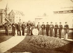 The first Michigan State Cadet Band, 1884