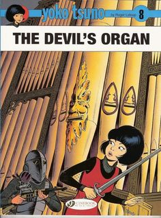YOKO TSUNO - The devil's organ - Leloup - Cinebook 2013 (english) - Comme neuf