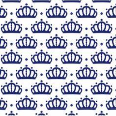 Papel 23 Coroa Azul Marinho - cultivando Sonhos Papelaria Personalizada
