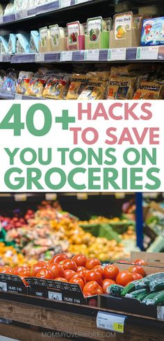 Awesome list of hacks and ideas to do grocery shopping on a budget. Loved that it wasn't only about coupons and had suggestions for healthy food for the entire family. No matter for two or for four, these tips will help me save money on food and groceries. #savemoney #budgeting #budgetfriendly