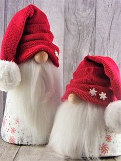 Your place to buy and sell all things handmade Gnome Ornaments, Diy Christmas Ornaments, Handmade Christmas, Holiday Crafts, Christmas Decorations, Christmas Knomes, Scandinavian Gnomes, Christmas Mood, Sewing Projects