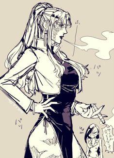 Black Lagoon Anime, Revy Black Lagoon, Manga Girl, Anime Art Girl, Manga Anime, Female Character Design, Character Art, Balalaika Black Lagoon, Female Monster