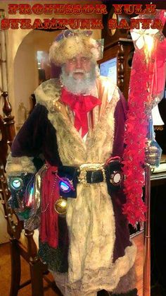 Professor Yule - Steampunk Santa. Member of the Santa Corps