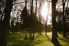 The sun is shining at Oakbrook Golf Club, Lakewood, WA.
