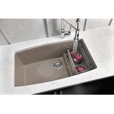 Blanco Performa 32 Granite Composite Undermount Kitchen Sink Single Bowl Silgranit Puradur