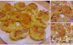Оладьи из кабачков, запеченные в духовке | Кулинарные рецепты от «Едим дома!»