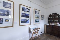 From Benji Davies new exhibition, The Storm Whale In Winter Exhibition Display, Frame Display, Whale, Original Artwork, Gallery Wall, Bright, The Originals, Winter, Home Decor