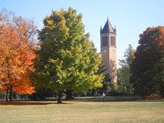 Iowa State University Campus. It really is this beautiful. Central campus was designed by the same individuals that designed Central Park.