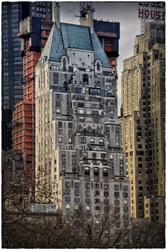 NYC. Hampshire House, Central Park South