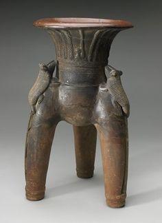 Vessel                         Artist Unknown       (Costa Rica, Central America), c. 500                                    Ceramic