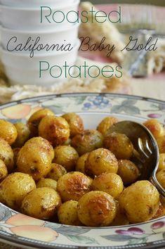 Roasted California Baby Gold Potatoes