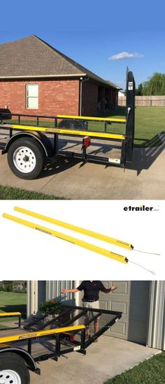 Need help lifting the tailgate of your trailer? Lift assist allows you to easily lift and lower the tailgate on your utility trailer. Cables attach to springs in the rear of the units and take on the weight of the tailgate.