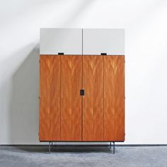 Cees Braakman; Cabinet from the Japanese Series for Pastoe, 1950s.