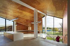 WMS Boathouse at Clark Park / Studio Gang Architects -  Uplights