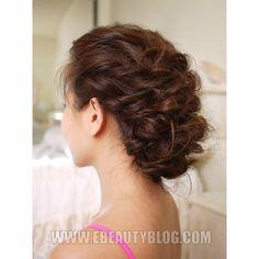 Bride hair via Polyvore