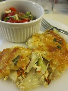 Back from my holiday and ready to share my love for veggie recipes again. Eager to try this one... Cabbage Au Gratin