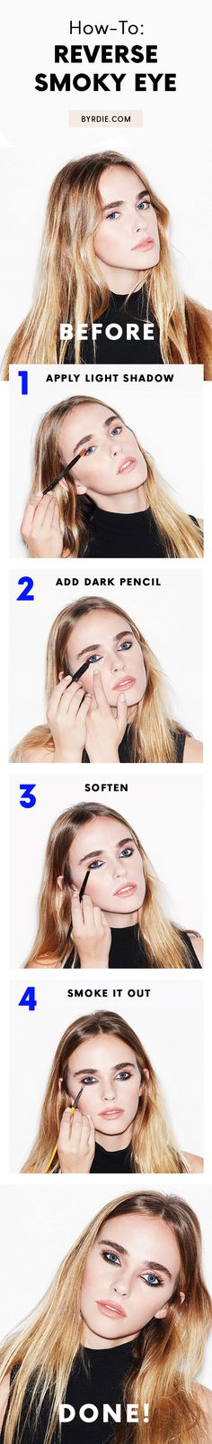 How to wear eye makeup during the daytime