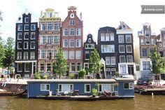 houseboat, jordaan, amsterdam
