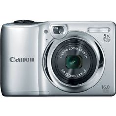 Canon PowerShot A1300 16.0 MP Digital Camera with 5x Digital Image Stabilized Zoom 28mm Wide-Angle Lens with 720p HD Video Recording (Silver) --- http://yupurl.com/6s9rdv