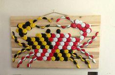 Maryland Beer Cap Crab by OertleDesigns on Etsy