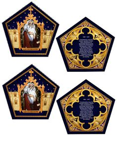 HARRYPOTTER: wizard trading cards printable