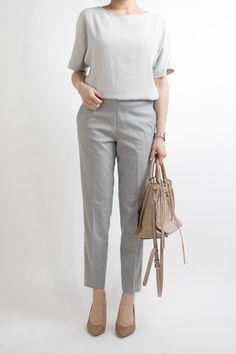 How to rock the casual chic look Fashion To Figure, Work Fashion, Office Fashion, Street Fashion, Fall Fashion, Fashion Trends, Business Professional Outfits, Business Attire, Business Casual