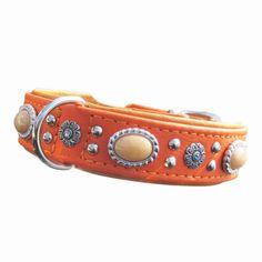 Hundehalsband Bellissima http://www.hundeleben-exklusiv.de/products/SCHOeNER-GASSI/Halsbaender-Leinen/Leder/Hundehalsband-Bellissima.html