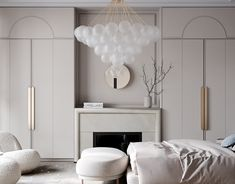 Park Avenue on Behance Apartment Interior Design, Interior Decorating, Wardrobe Design Bedroom, D House, Modern Classic, Built Ins, Interior Inspiration, Behance, Room Decor