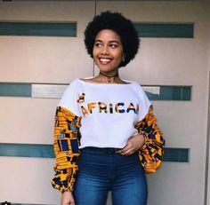 African Print crop sweatshirt , Crop Top jumper, Women's sweats African Fashion Designers, African Fashion Ankara, Latest African Fashion Dresses, African Print Dresses, African Print Fashion, Africa Fashion, African Dress, African Attire, African Wear