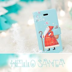 Santa Clause Leather Flip CoverHappyMori specializes in quality cell phone cases designed at the design studio in South Korea. You