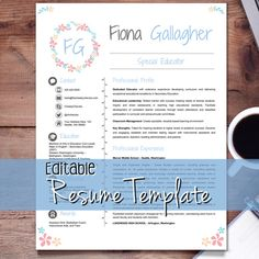 Resume Template  Teacher Cv  Cover And Reference Letters