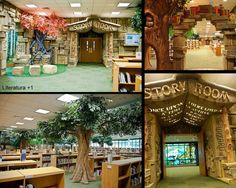 Children's library, Brentwood Library, Tennessee