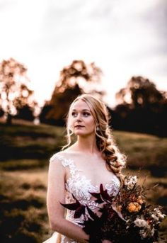 Our autumnal style shoot embraced the deep hues and colours of the changes of the . Beautiful Bride, Beautiful Dresses, Nostalgia Photography, Autumn Harvest, Plait, Sugar Flowers, Floral Style, Autumnal, Fishtail