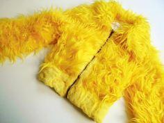 Vintage Jacken - Felljacke 34/36 xS s ReTrO 70er JaCkE vinTage 80er - ein Designerstück von LIEBKIND-bremen bei DaWanda